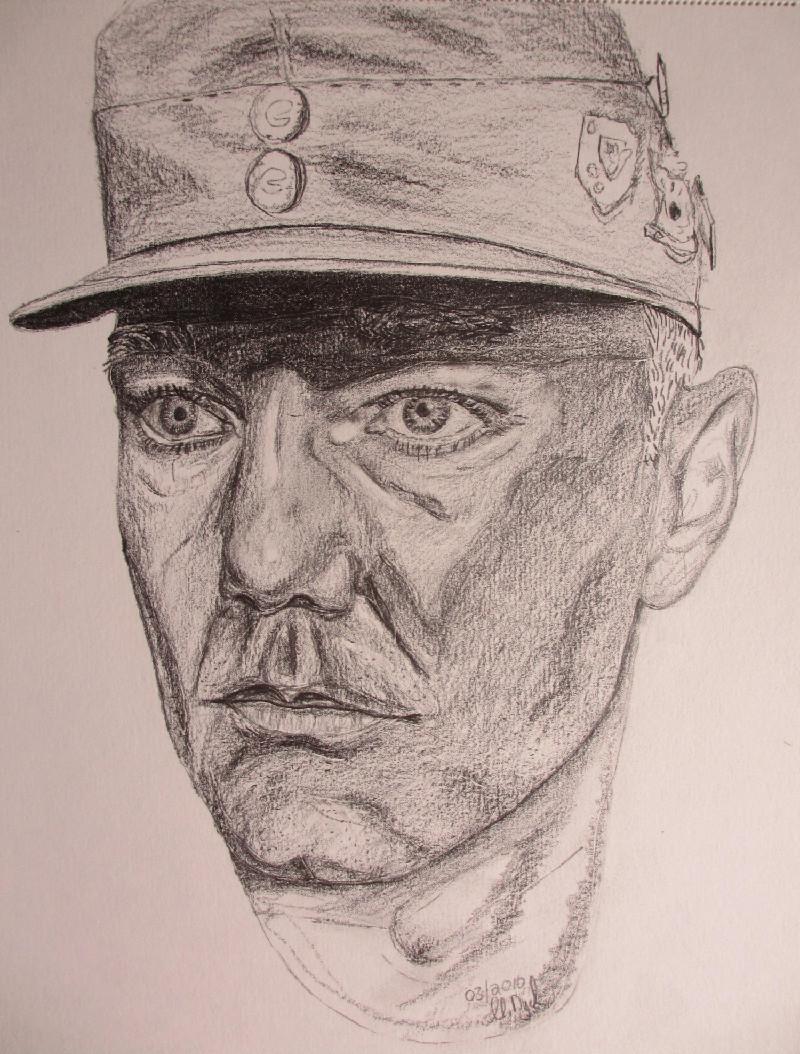 """""""Selbstportrait"""". Eine Studie. Bleistift. März 2010."""